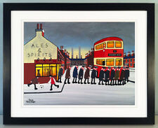 """JACK KAVANAGH """"GOING TO THE MATCH"""" ROTHERHAM UNITED FRAMED PRINT"""