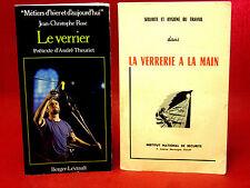 Jean-Christophe ROSÉ - LE VERRIER - 1980 - (I.N.S.) LA VERRERIE A LA MAIN - 1953