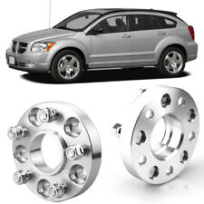 """2pcs 1"""" Wheel Spacers Centric Hub Adapters 5x4.5 67.1mm 12x1.5 For Dodge Caliber"""