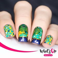 P042 Bubbly Cauldron Water Decals Sliders for Nail Art Design