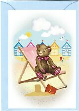 """Teddy Bear (No.3.) (4"""" x 6"""") Blank Card ideal for any occasion - by Starprint"""