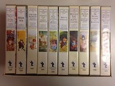 COFFRET 10 K7 VIDEO VHS BEATRIX POTTER // V.O NEDERLANDS