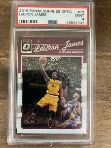 Lebron James 2016 Donruss Optic Psa 9