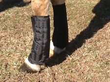 Therapeutic Ice Tendon Boots / Cooling Wraps for Horses (1 Pair)