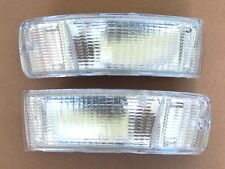 Audi 80/90 B3/B4 Coupe/ limo Indicator Blinker one Set Left+Right Lens White