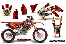 AMR Racing Honda CRF250X Graphic Decal Number Plate Kit Bike Sticker 04-15 MHD R