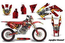 AMR Racing Honda CRF250X Graphic Decal Number Plate Kit Bike Sticker 04-15 MHD R
