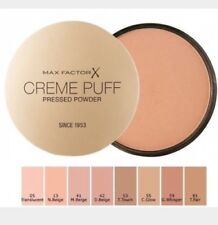 Max Factor Creme Puff Pressed Powder - Flawless Finish Makeup Cosmetics FREE P&P