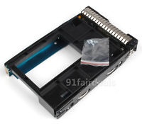 "2.5"" to 3.5"" SSD Adapter 661914-001+ SAS/SATA Tray Caddy 651314-001 For HP G8/G9"