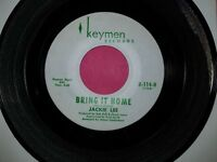 JACKIE LEE / African Boo-Ga-Loo - Bring It Home/ Keymen K-114 45rpm Vinyl Record