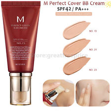 MISSHA M PERFECT COVER BB CREAM 50ml Concealer SPF42 PA+++ 100% Genuine Skincare