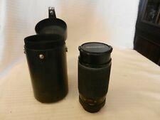 Quantaray 28-200mm AF-D Zoom Camera Lens 42M Screw Mount With Case