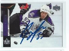 George Parros Signed 2006/07 Upper Deck Card #92