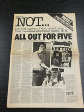 Ultra Rare Time Out NOT Issue produced during Strike, 19-25 June 1981
