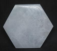 103mm Natural Gypsum Selenite Satin Spar Crystal Gem