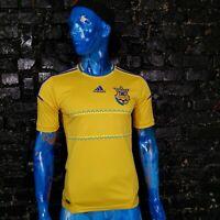Ukraine Team Jersey Home football shirt 2011 - 2014 Adidas X11627 Mens Size S
