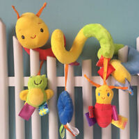 Baby Crib Music Toy Kid Crib Cot Pram Ringing Bed Bells Spiral Rattles Toys