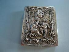 RSHK16-050: Deckeldose 800er Silber tanzende Bauern