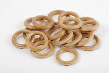 30mm Light Brown Beads - 25 Count