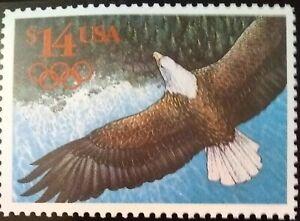 Scott #2542, Eagle in Flight, Express Mail International Rate
