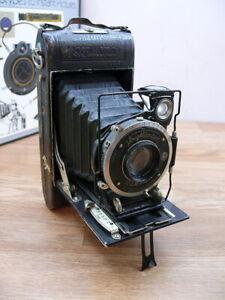 Voigtlander Braunschweig 6x9cm folding camera .