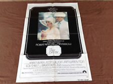 1974 The Great Gatsby Original Movie House Full Sheet Poster