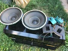 Altec Lancing 415C Biflex Woofers 8 ohms and speaker components
