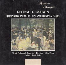 George Gershwin CD Rhapsody In Blue / Un Américain A Paris - France