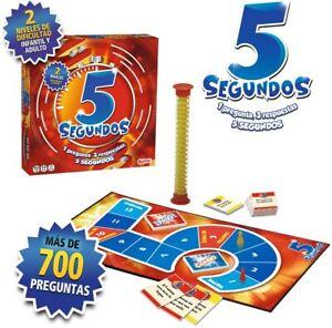 """Lúdilo 678403. Juego """"5 Segundos"""". Más de 8 años. De 3-6 jugadores. 20 minutos"""