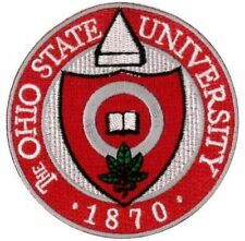 "OSU University of Ohio State Buckeyes Embroidered Iron On Patch 3""x 3"" RARE NCAA"