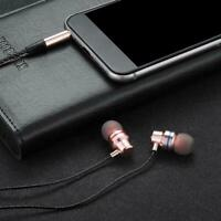 HIFI Super Bass Headset Mini In-Ear-Kopfhörer Stereo-Ohrhörer Mic Mode Wire K2K0