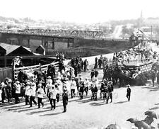 "Photo 1900s North Ipswich Australia ""Parade Celebration"""