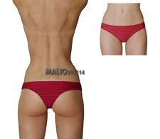 Calzedonia Bikini Slip Brasiliano Rosso Righe Sexy Tg1 XS EU36