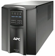 APC SCHNEIDER ELECTRIC IT CONTAINER SMT1000C SMART UPS 1000VA LCD 120V WITH