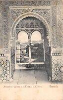 BF34266 granada alhambra spain ajimez de la torre de la cauliva  front/back scan