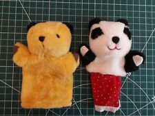 SOOTY & SOO HAND PUPPETS PLUSH SOFT TOY BY PMS
