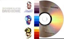 David Bowie 6trk PROMO CD SAMPLER Platinum Collection