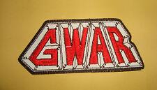 GWAR - LOGO Embroidered PATCH ANTHRAX SOD MOD DRI HELL-O