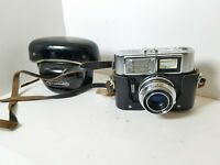 Voigtlander Vitrona Camera Color-Lanthar 2.8/50 Lens With Original Case UNTESTED
