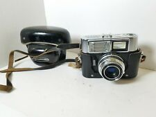 Voigtlander Vitrona Camera Color-Lanthar 2.8/50 Lens With Original Case UNTESTED