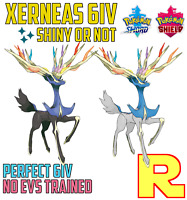 6IV XERNEAS ⚔️ SHINY or NOT 🛡 SWORD & SHIELD ⚔️🛡 Legit & Perfect