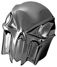 Kuryakyn Black Chrome Skull Horn Cover for Harley 91-17 Models w/ Cowbell 7741