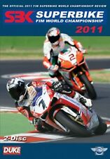 WORLD SUPERBIKE 2011 DVD. 2 DISCS. CARLOS CHECA. STEREO. 480 Mins. DUKE 1867NV
