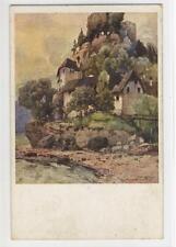 AK St. Nikola an der Donau, Burg Werfenstein, vermut. 1925