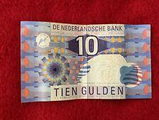 10 Tien Gulden Netherlands Banknote Note 1997