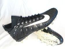 Nike Alpha Menace Elite Football Cleats Black 877141-011 Men's Size 15