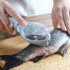 Fish Skin Brush Scraping Fishing Scale Grater Remover Knife Kitchen Peeler Tool