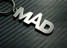 MAD Crazy Nutter Nuts Funny Fun Keyring Keychain Key Fob Bespoke Novelty Gift