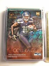 Paul Richardson 2014 Topps Valor Limited 117/399 Rookie Card Seahawks NFL