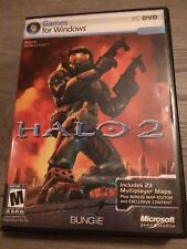 Halo 2 PC DVD Big Box Games for Windows with Manual and Key